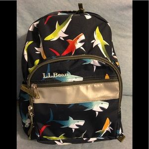 *Brand new* RARE LL Bean Shark Backpack Junior